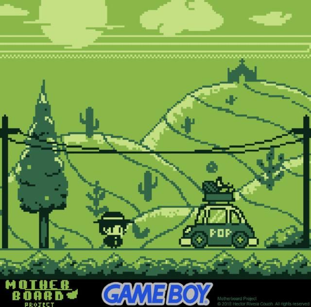 Deathrosa Videojuego Indie Mexicano Game Boy