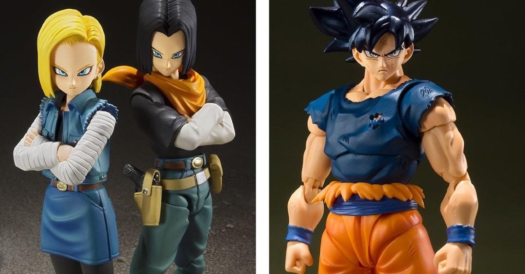 Goku Androide 17 Androide 18 Dragon Ball Figuras Comic Con Dragon Ball