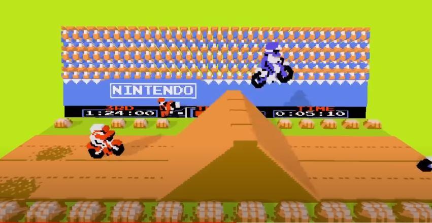 Excitebike, Emulador NES, 3DSen Steam