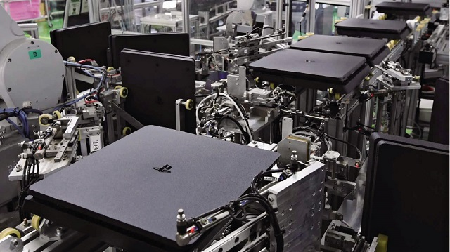 Fabrica Sony PS4