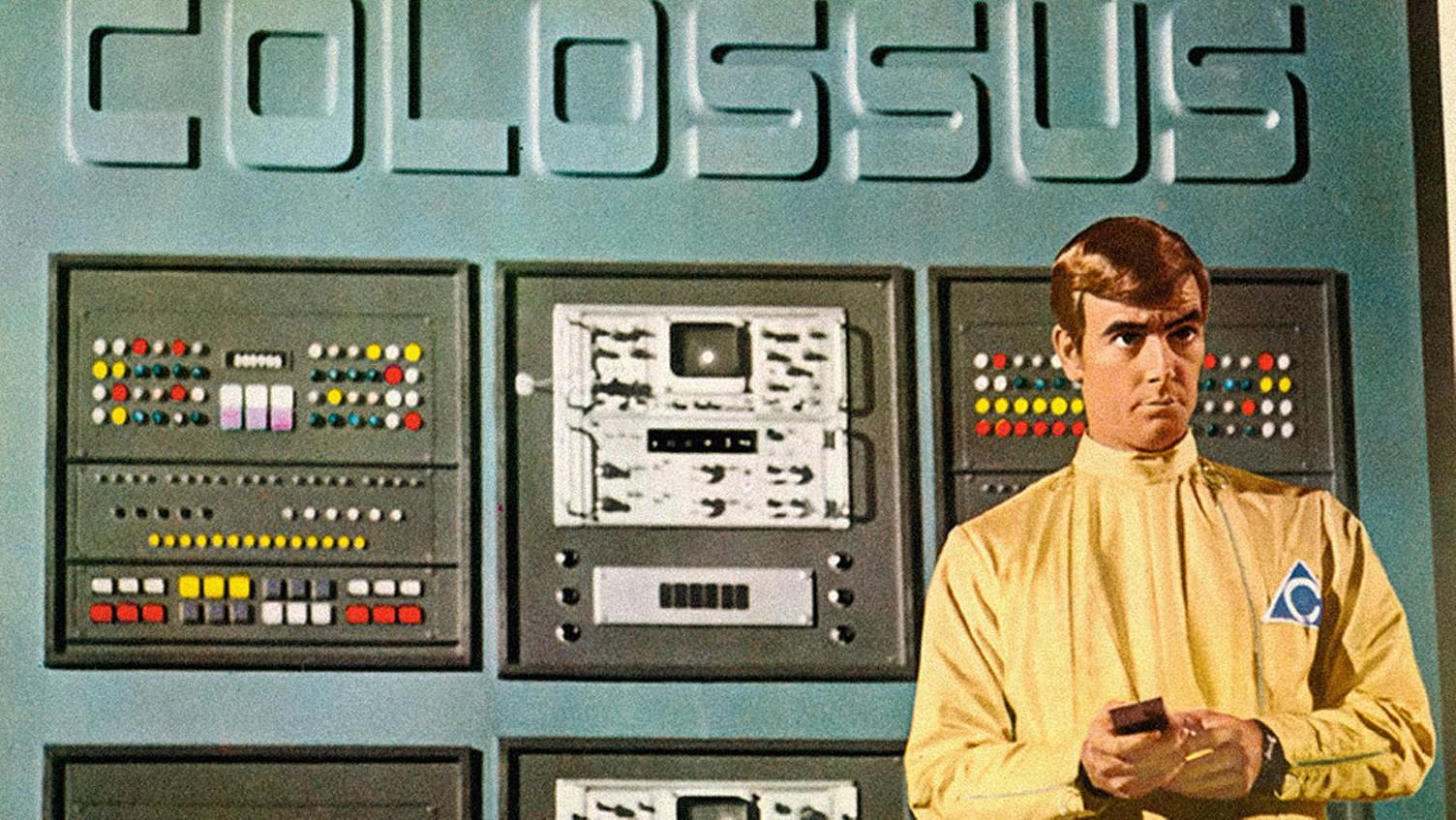 Ilustración de Colossus: The Forbin Project, pelicula sobre inteligencia artificial
