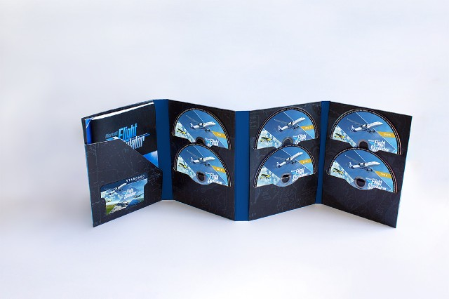 Microsoft Flight Simulator Versión Física Diez Discos