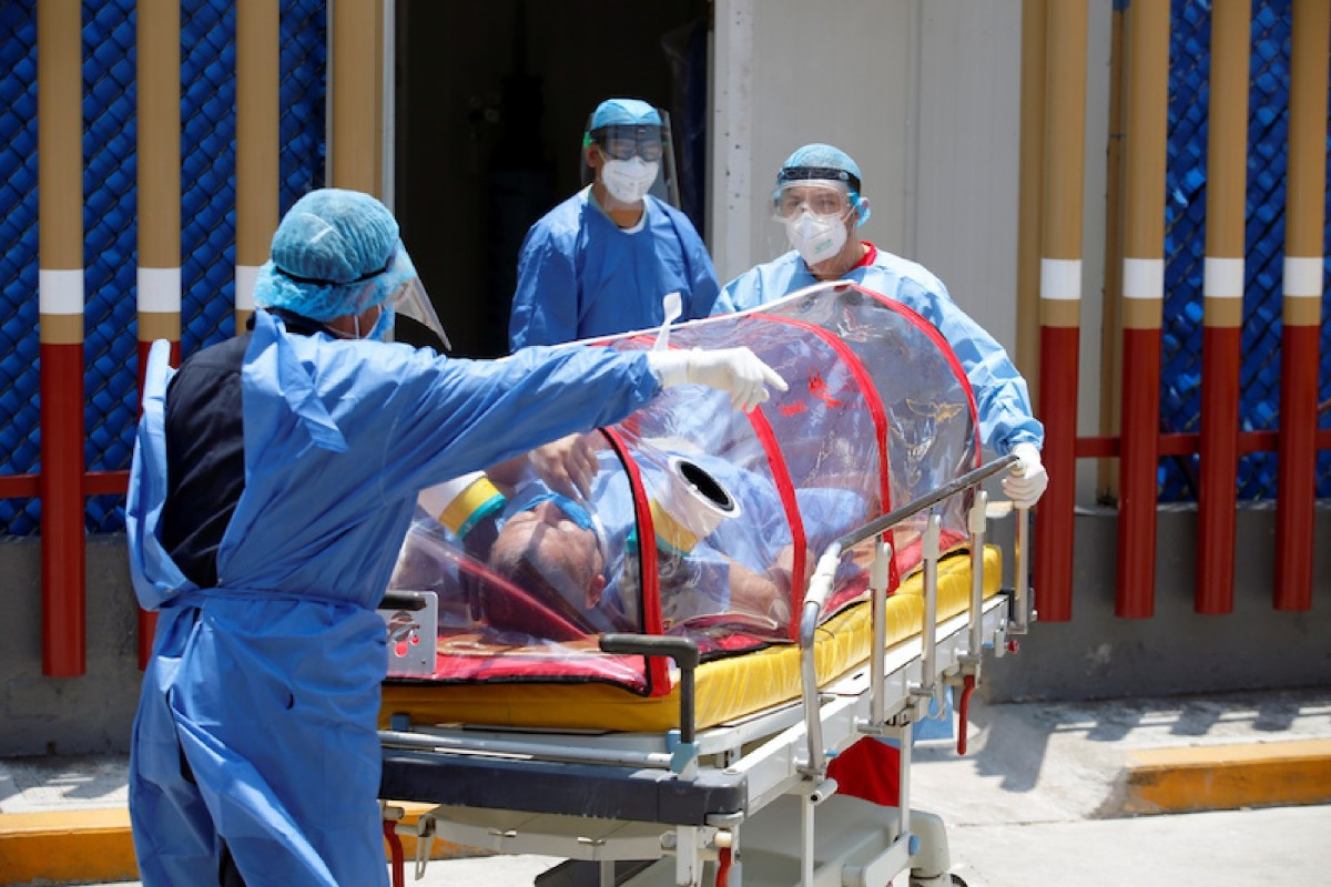 OMS Coronavirus Crisis Sanitaria
