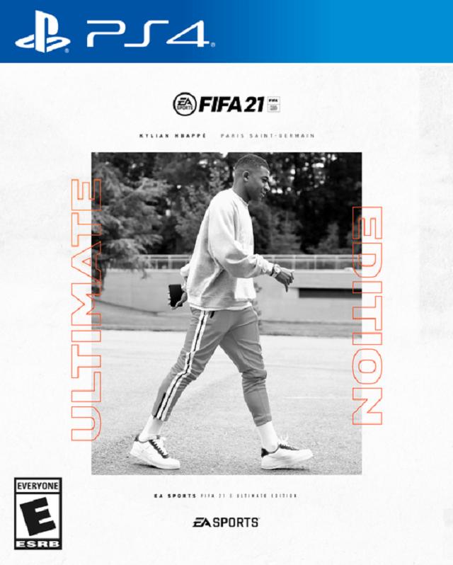Portada FIFA 21 Kylian Mbappe