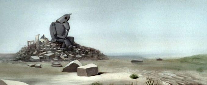 Fotograma del autómata en Le Roi et L'Oiseau