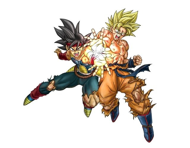 Toyotaro Ilustración Goku Bardock