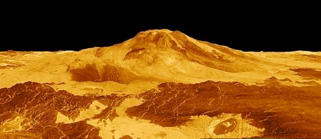 Foto Volcan Activo Venus