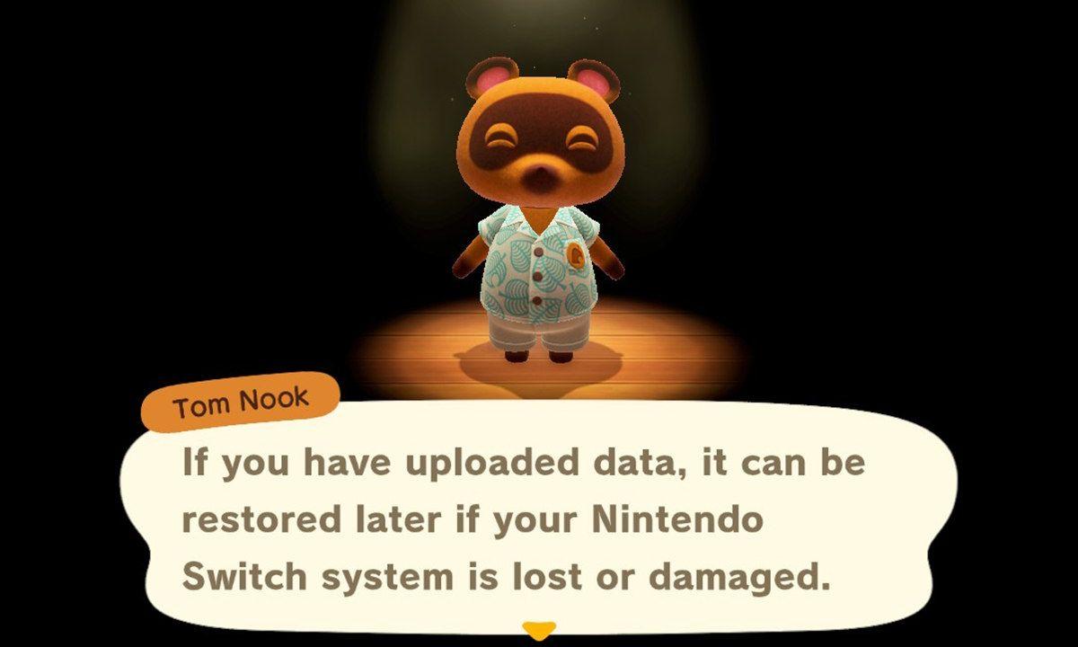 Cómo guardar en la nube tu isla de Animal Crossing: New Horizons