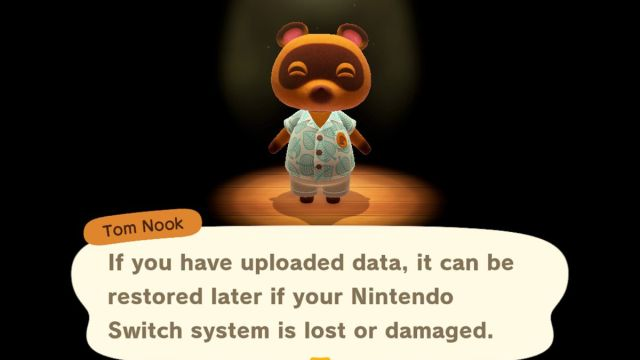 Cómo guardar en la nube tu isla de Animal Crossing: New Horizons