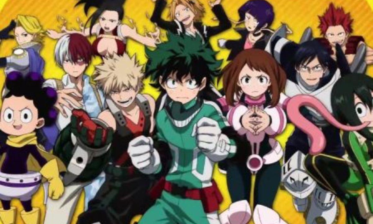 Revelan detalles de la quinta temporada My Hero Academia