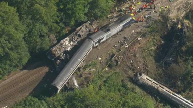 Accidente Tren Descarrilamiento Escocia
