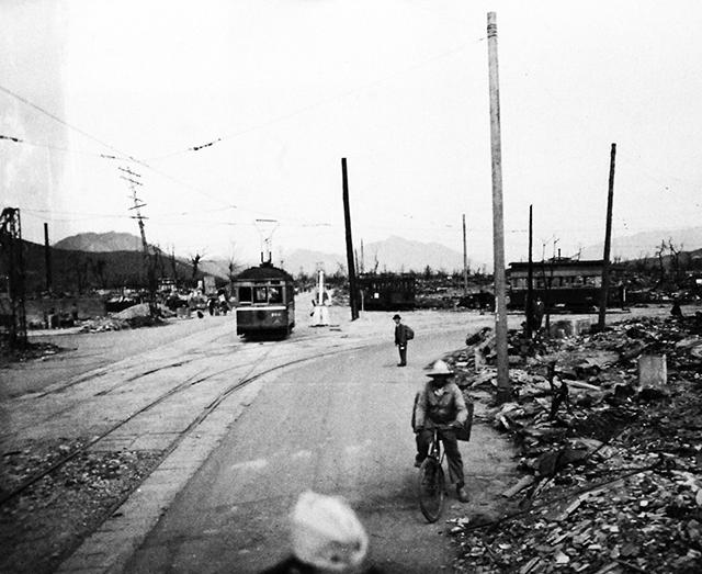 Foto Hiroshima despues de la bomba