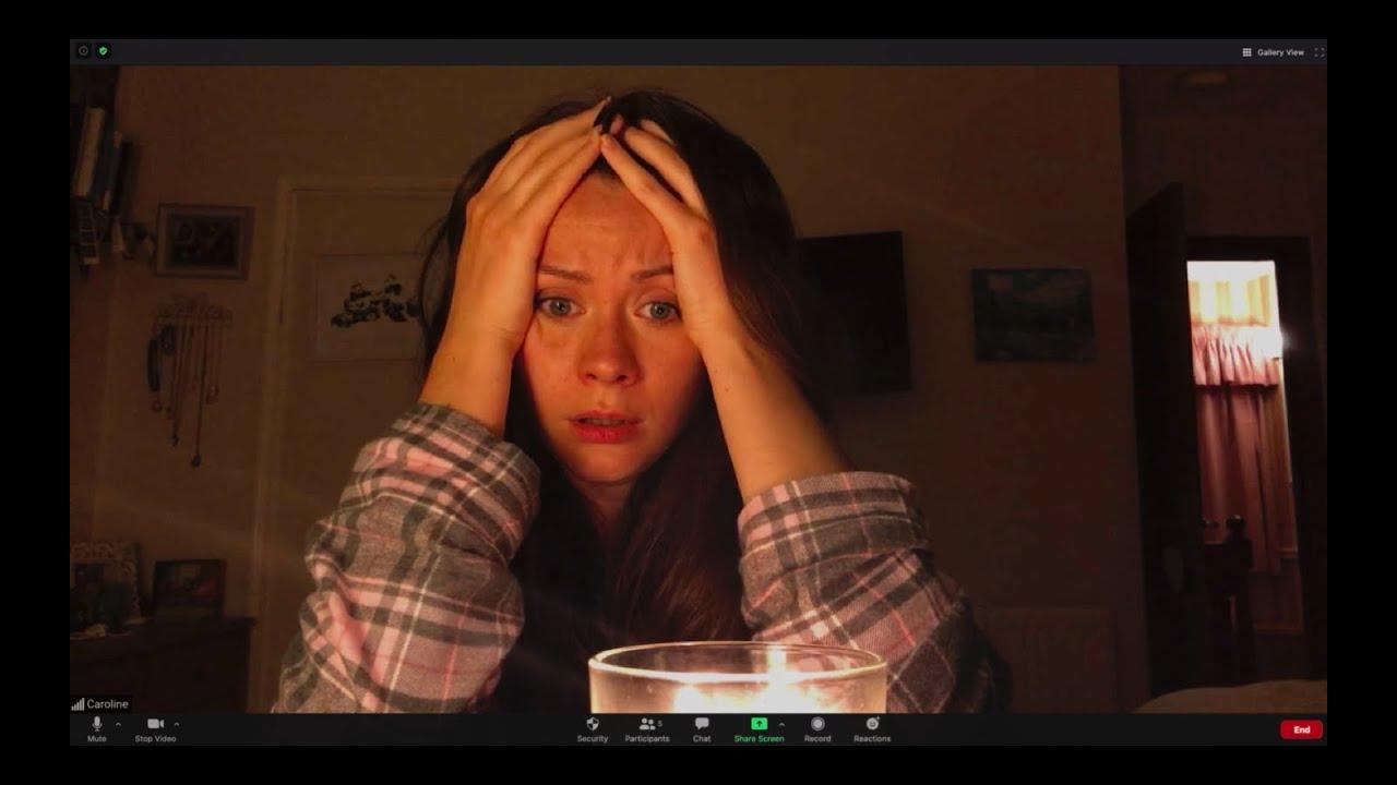 Fotograma de la película de horror Host de Rob Savage