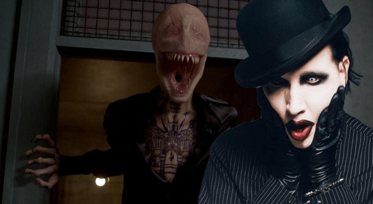 Marilyn Manson Smiley Men New Mutants (1)