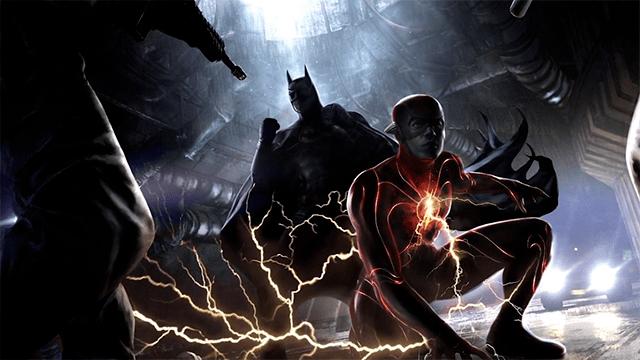 Michael Keaton Batman Flash Flashpoint