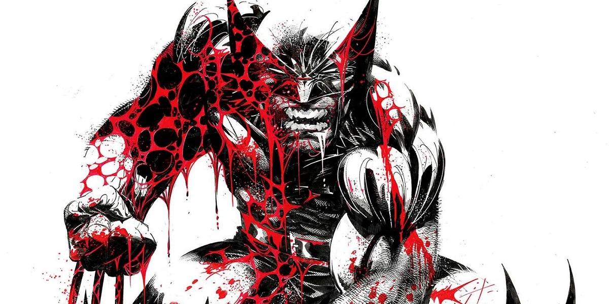 Nuevo Cómic Wolverine Black White Blood