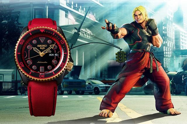 Reloj Street Fighter V Seiko