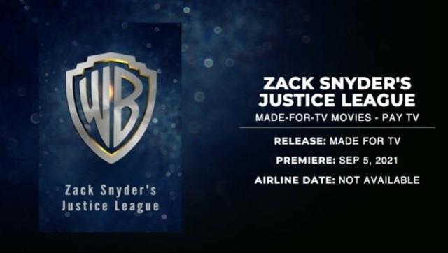Snyder Cut Fecha de Estreno