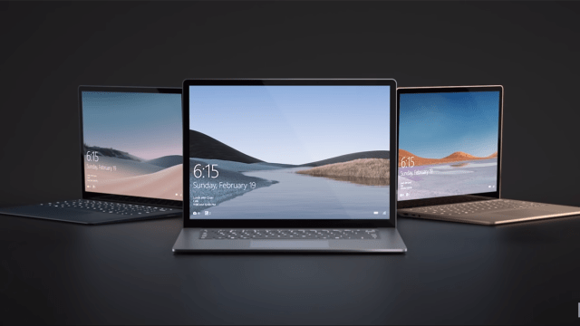 Surface Laptop 3 Presentación México