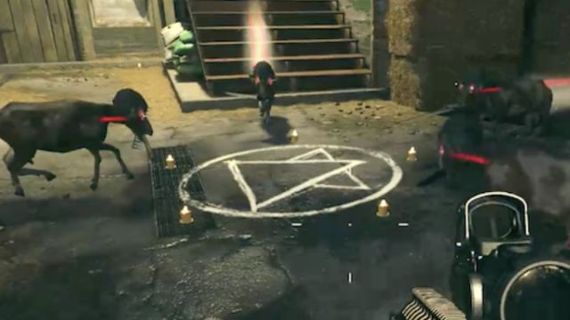 Desbloquear easter egg del ritual satánico en Call Of Duty