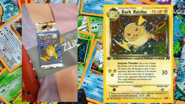 Encuentran cartas de Pokémon de hace 20 años enterradas bajo un estante