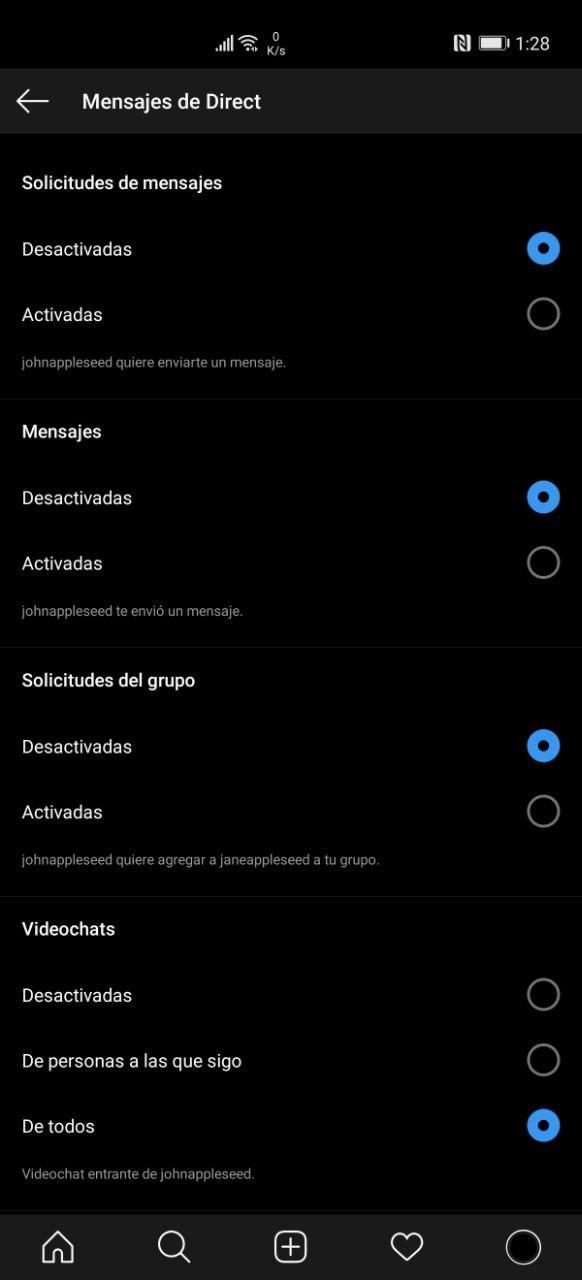Cómo ocultar conversaciones DM en Instagram (Android y iOS)
