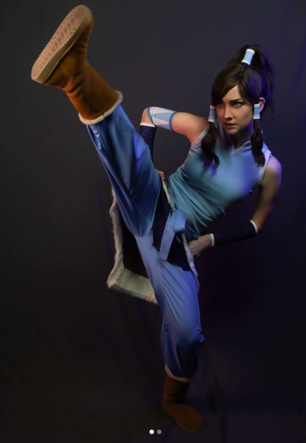 Este genial cosplay de Korra te pondrá en modo Avatar y recuperará el equilibrio mundial