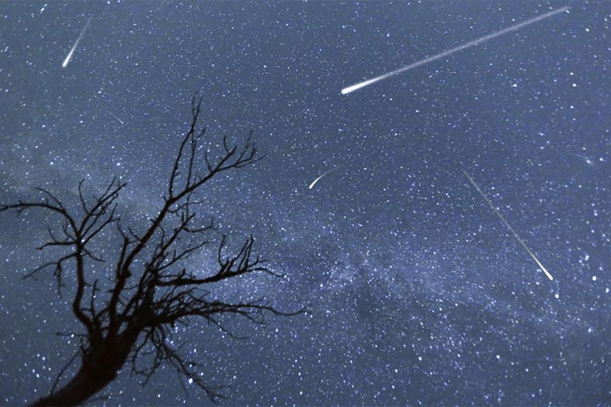 lluvia de estrellas Perseidas