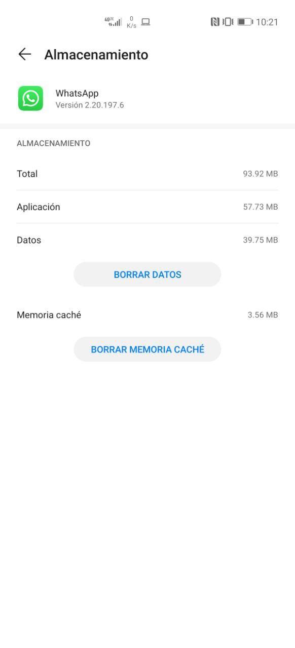 Cómo borrar la memoria caché de WhatsApp en Android e iOS