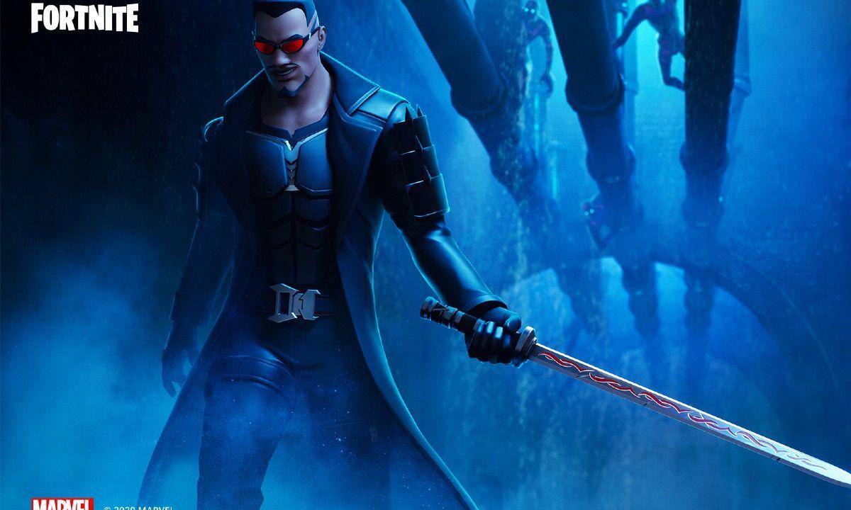 Blade Fortnite Marvel