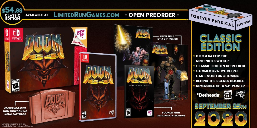 Doom 64 PS4 Switch