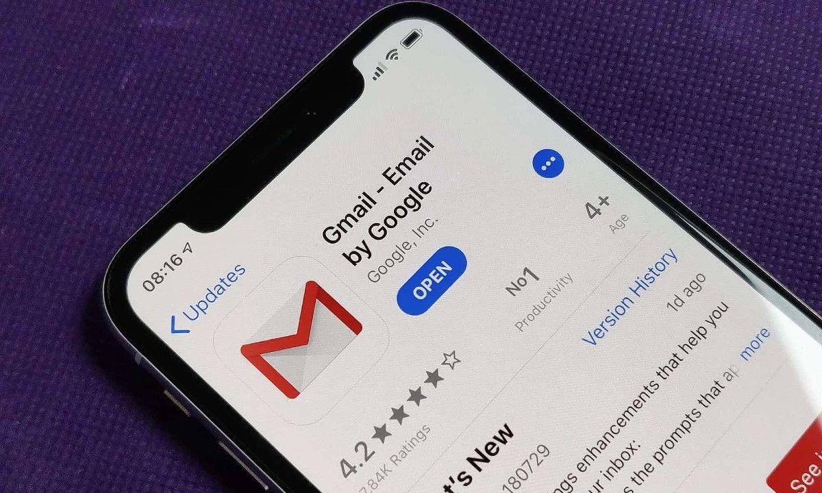 Gmail iOS 14 iPhone
