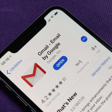 Gmail iOS 14 iPhone