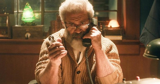 Mel Gibson Santa Claus Fatman