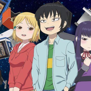 Netflix YouTube Anime Hi Score Girl