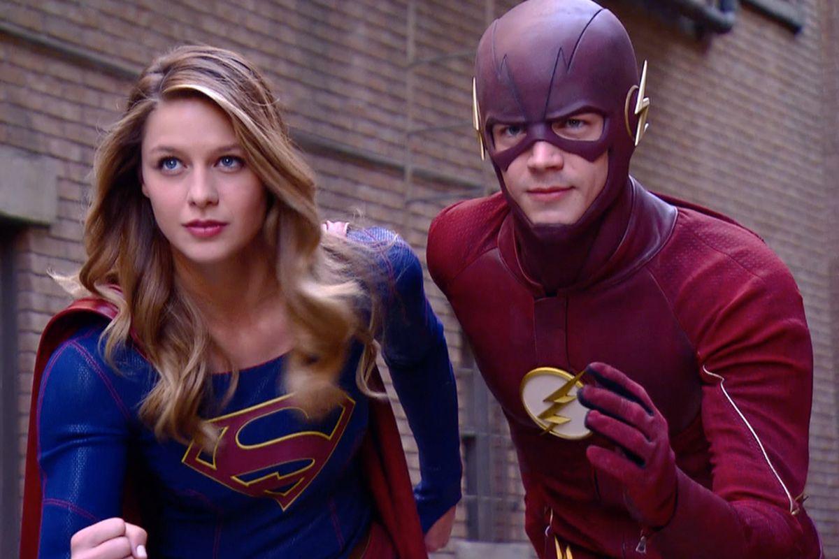 Supergirl y flash The Cw