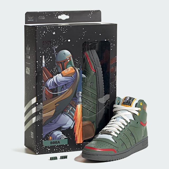 adidas Originals Star Wars El Imperio Contraataca Boba Fett
