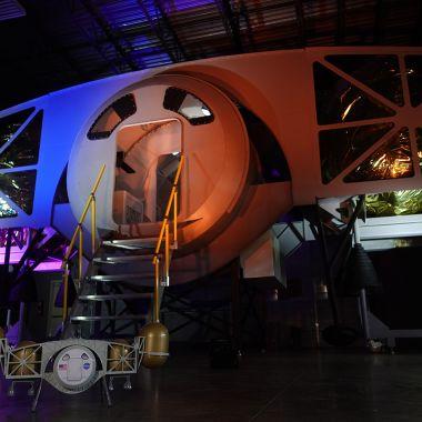 Así será la nave que llevará la próxima misión tripulada a la Luna