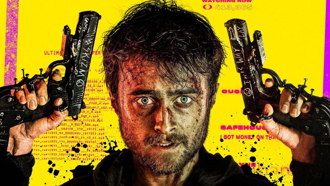 Reseña Guns Akimbo, Daniel Radcliffe