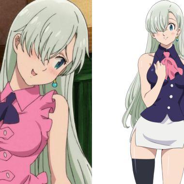 Hana Senpai hace atrevido cosplay de Elizabeth de Nanatsu no Taizai