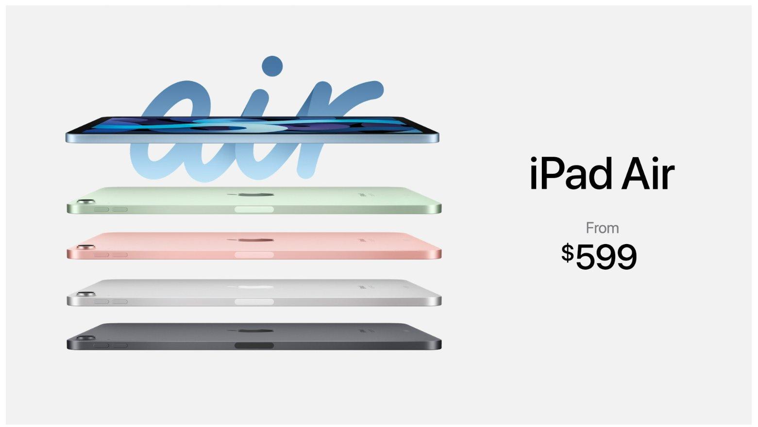 iPad 8 2020 y iPad Air 4: precio y características de lo nuevo del Apple Event