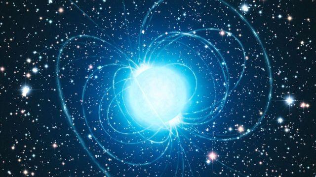 Científicos logran medir la distancia directa de la Tierra a un magnetar