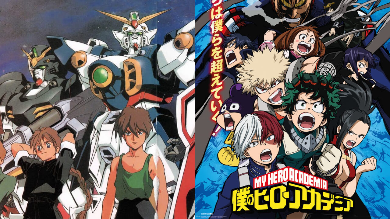 My Hero Academia y Gundam hacen un crossover en el capítulo 86 del manga