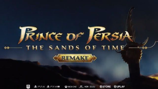Ubisoft confirma remake de Prince of Persia Sands of Time