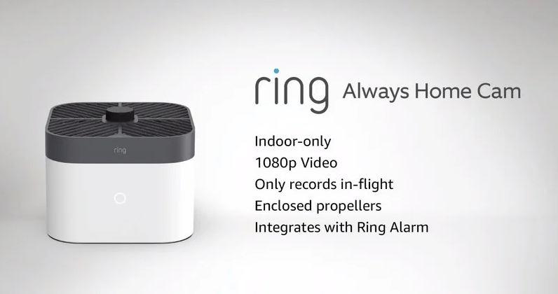 Always Home Cam: así es la nueva cámara de seguridad voladora de Amazon