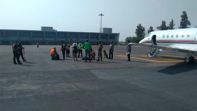 roban avión en Morelos