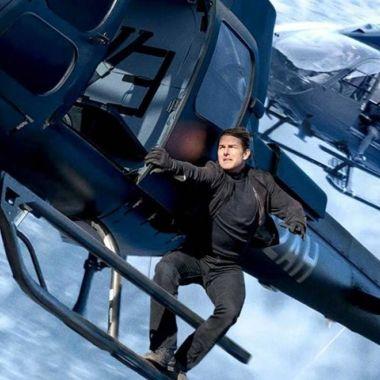 Tom Cruise Helicóptero Misión Imposible