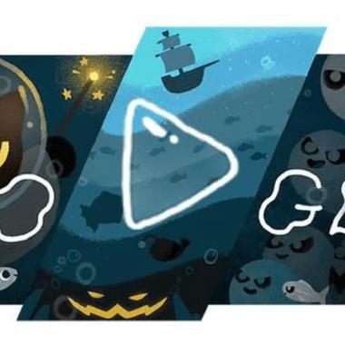 Momo Doodle Google Halloween