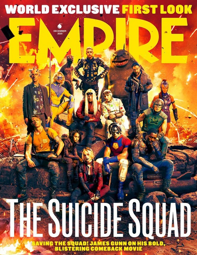 The Suicide Squad Portada Empire Magazine