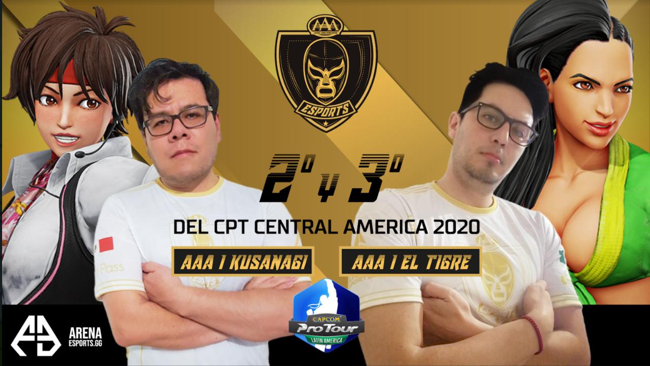 aaa equipo mexicano de esports gana torneo de capcom 1